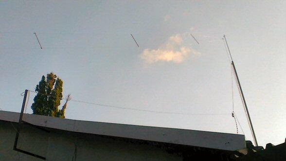 Antennas From Chimney