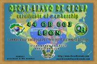 44OB003 Certificate OB